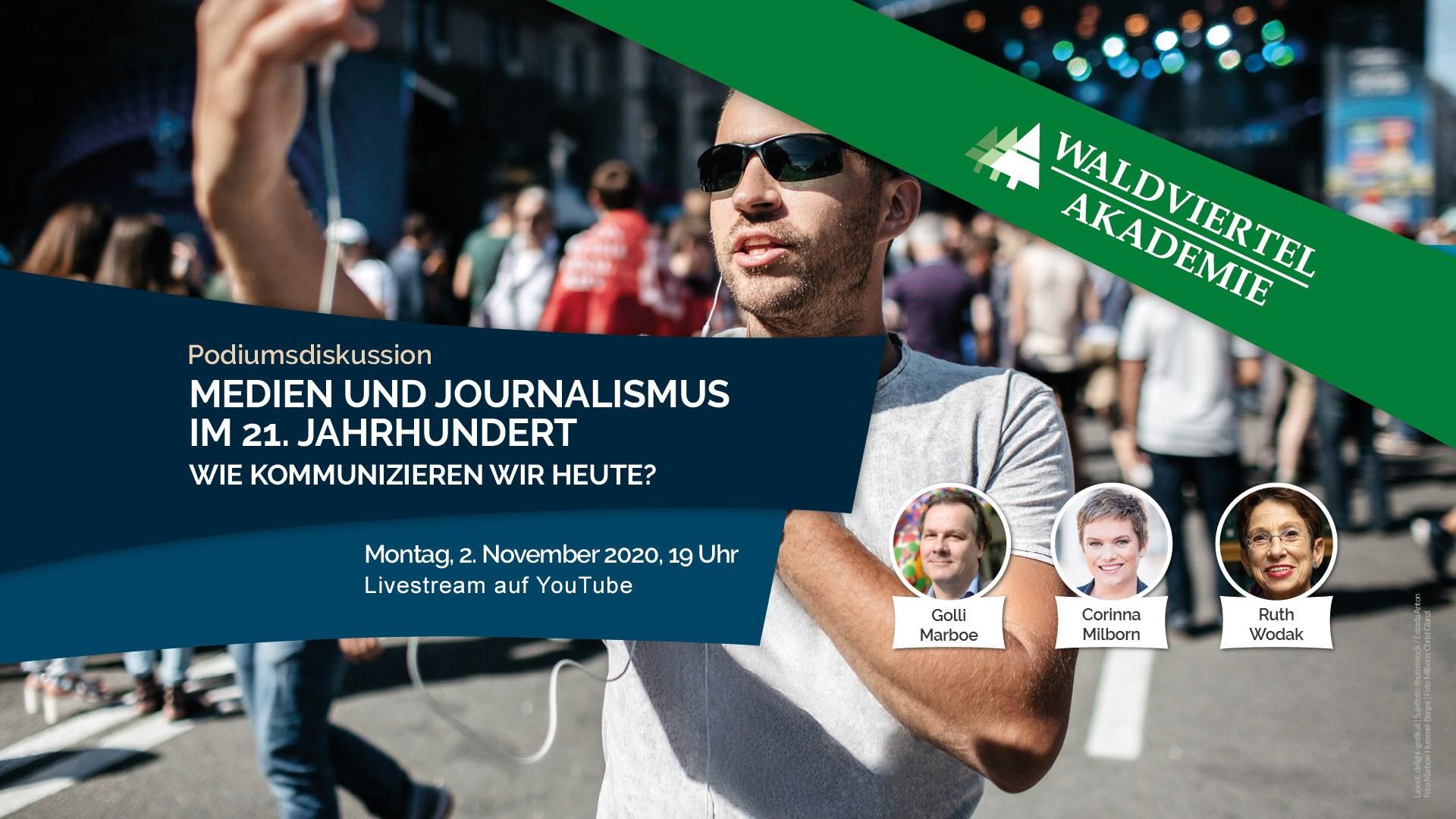 Medien und Journalismus im 21. Jahrhundert 1