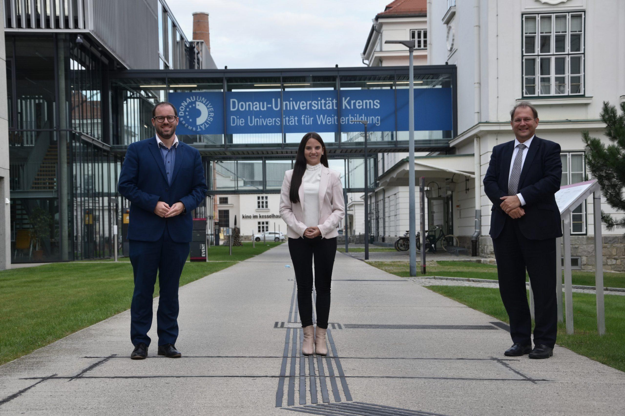 Kooperation mit Donau-Universität fortgesetzt 1