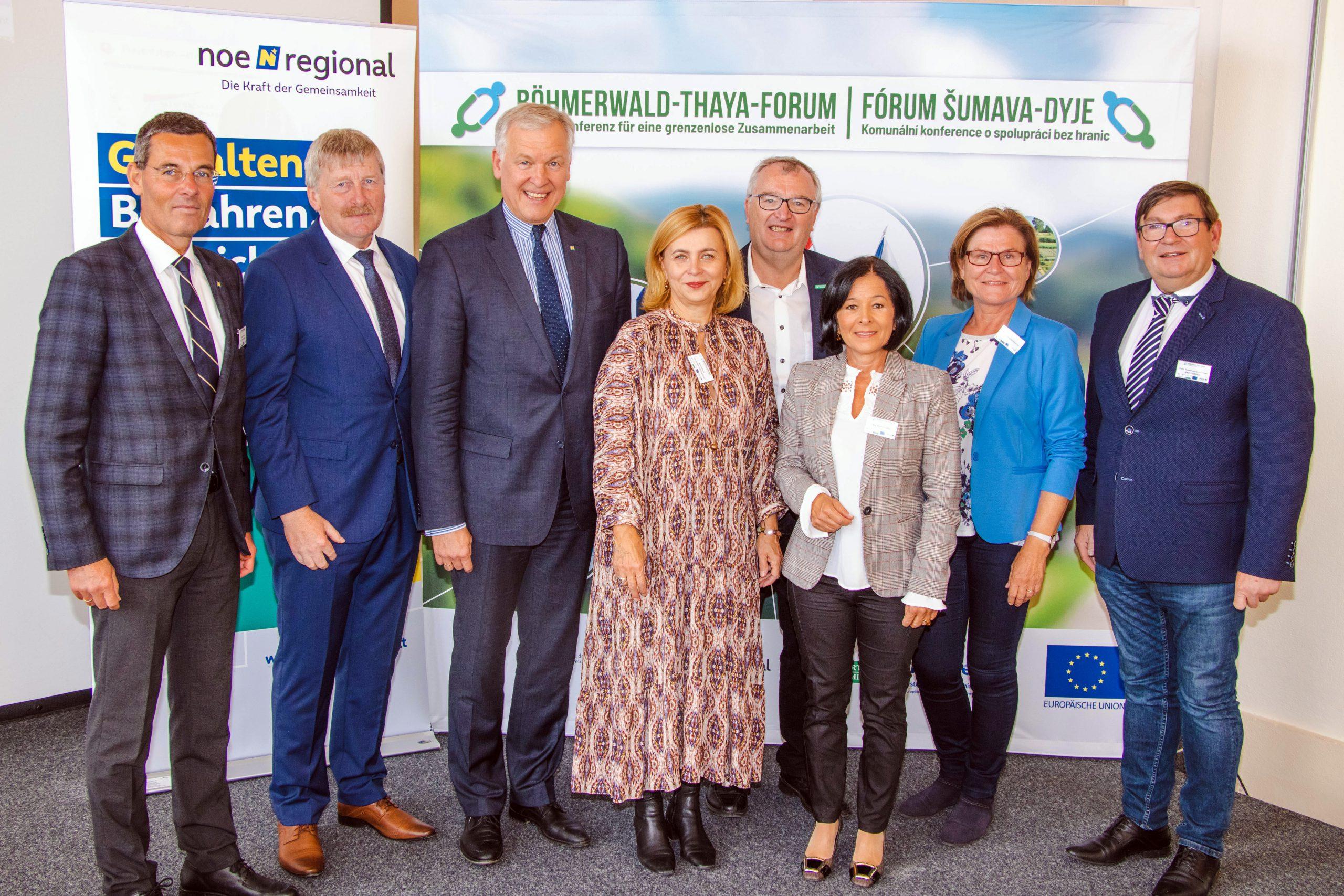 Erfolgreiches Böhmerwald-Thaya-Forum 1